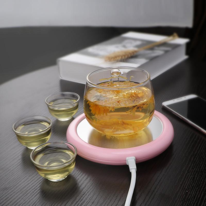 [抖音同款]青见保温垫家用恒温宝迷你电热保暖底座暖茶暖奶保温杯垫办公学生