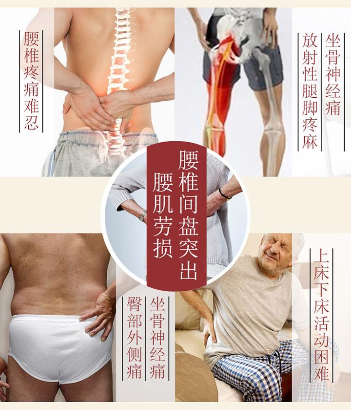 腰椎间盘突出的症状有哪些