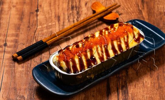 奈久食寿司产品-焗拷鳗鱼卷